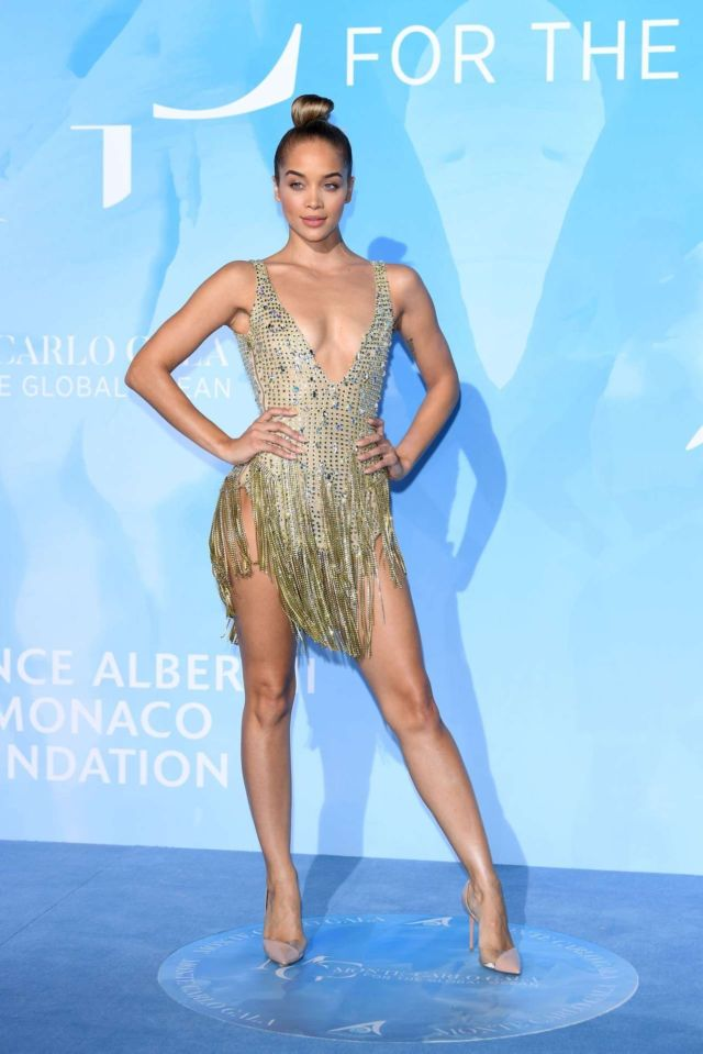 Jasmine Sanders Shines At The Gala For The Global Ocean 2019