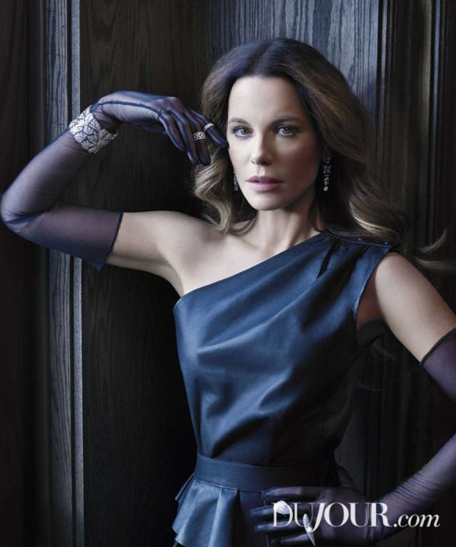 Kate Beckinsale Glams Up DuJour Magazine - Spring 2019