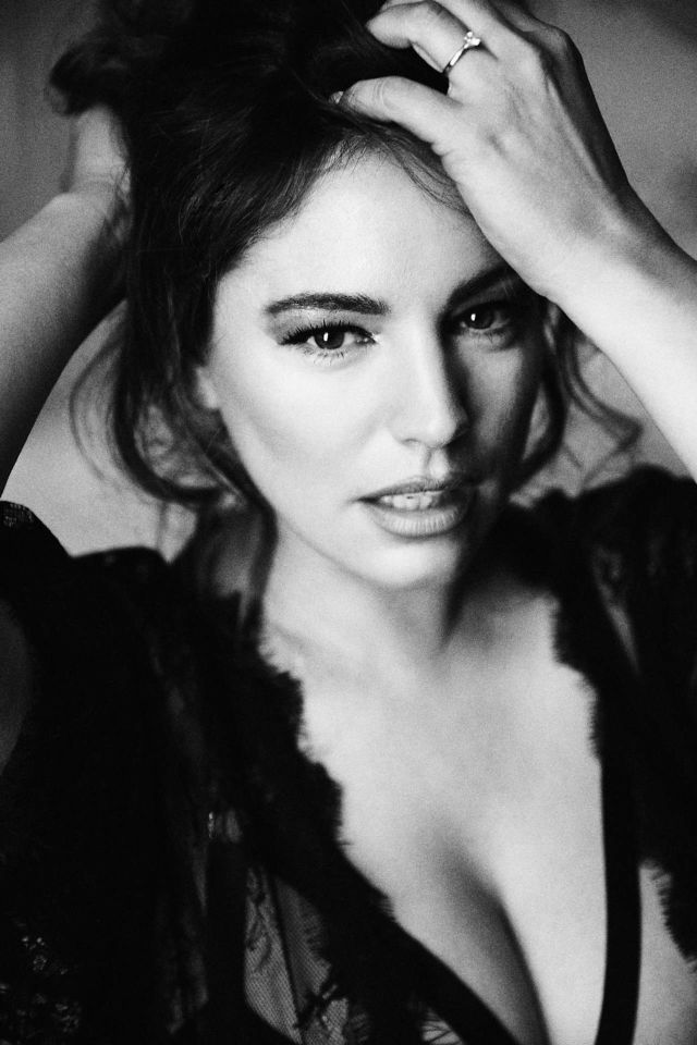 Kelly Brook's Exclusive Photoshoot By Mark Hayman