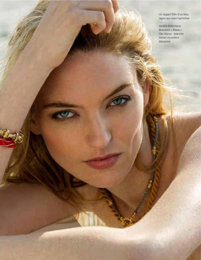 Martha Hunt Heats Up Photo Magazine July 2019