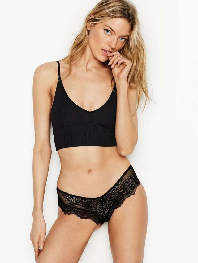 e6238308c08 Martha Hunt Poses For Victoria s Secret Lingerie Photoshoot ...