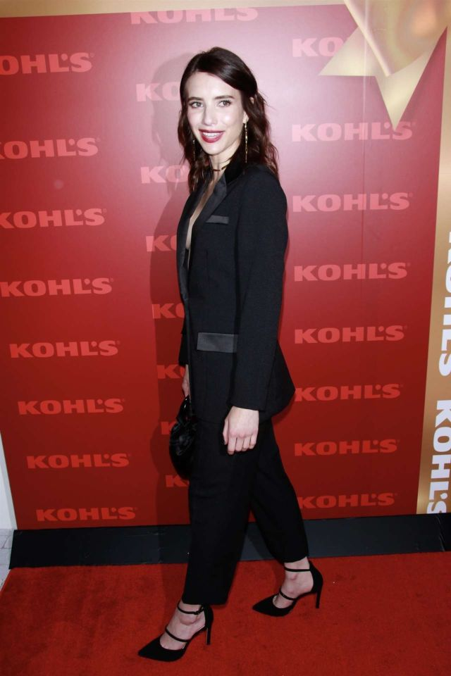 Emma Roberts And Lea Michele Togather At Kohl's New Gifts At Every Turn Holiday Pop-Up Opening Party