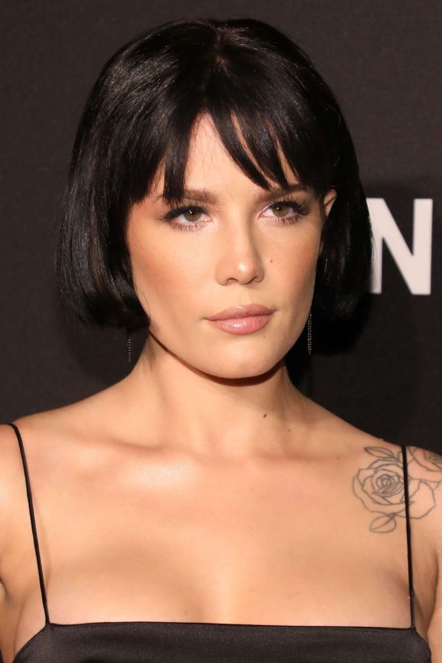 Halsey Turns Heads At DKNY Turns 30 Anniversary Party