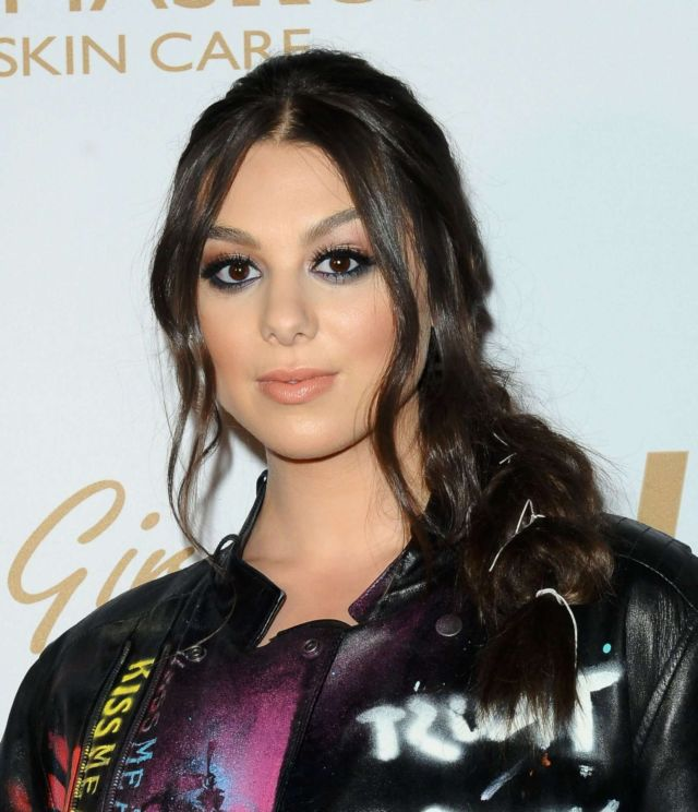 Pretty Kira Kosarin Attends OK! Star In Touch Life & Style Pre-Grammys Party