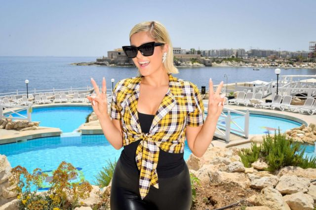 Bebe Rexha At Isle Of MTV Photocall In Malta