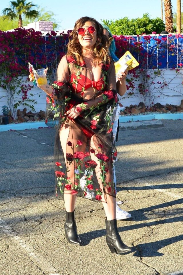 Chanel West Coast Enjoying The Coachella Festival 2019 In Indio