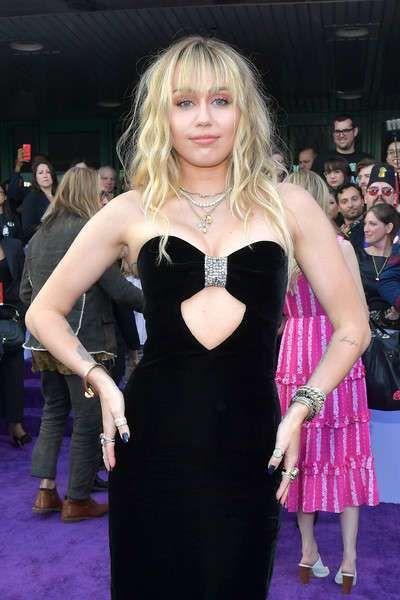Miley Cyrus Attends The 'Avengers: Endgame' Premiere In LA