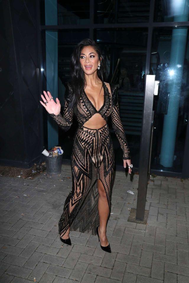 Nicole Scherzinger Spotted Outside 'The X Factor: Celebrity' In London