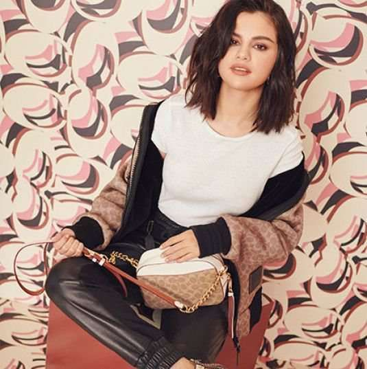Selena Gomez Shoots For Coach 2019 Collection
