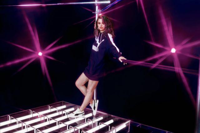 Selena Gomez Shoots For Puma Cali Sport Heritage Spring Summer 2020 Campaign