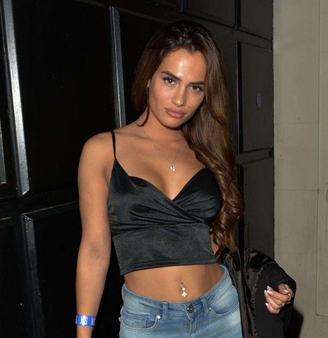 Nicole Bass At The Libertine Nightclub In London