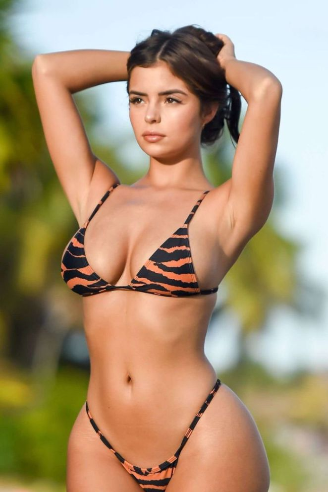 Demi Rose Mawby Poses For A Bikini Photoshoot In Tulum