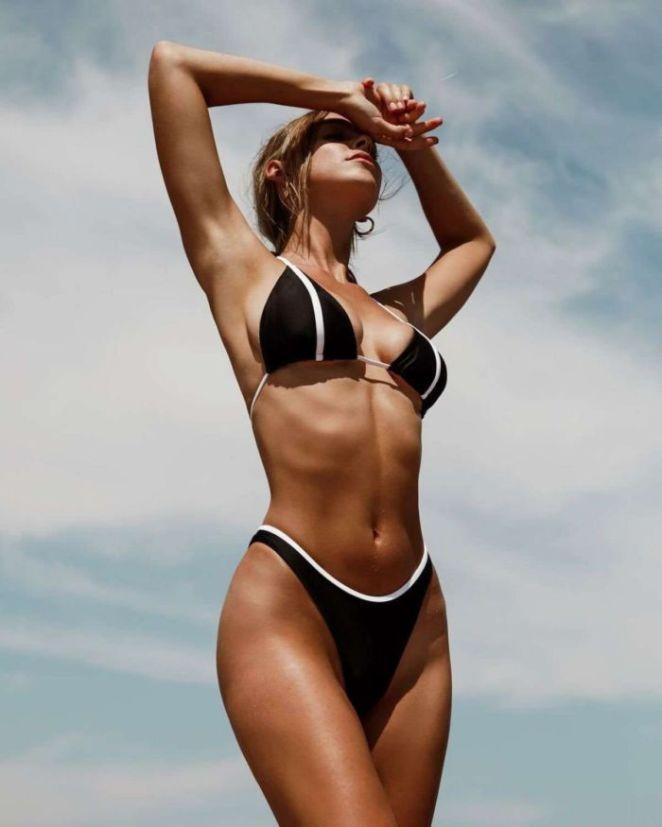 Elizabeth Turner Shoots For Gigi C Bikini 2019 Collection