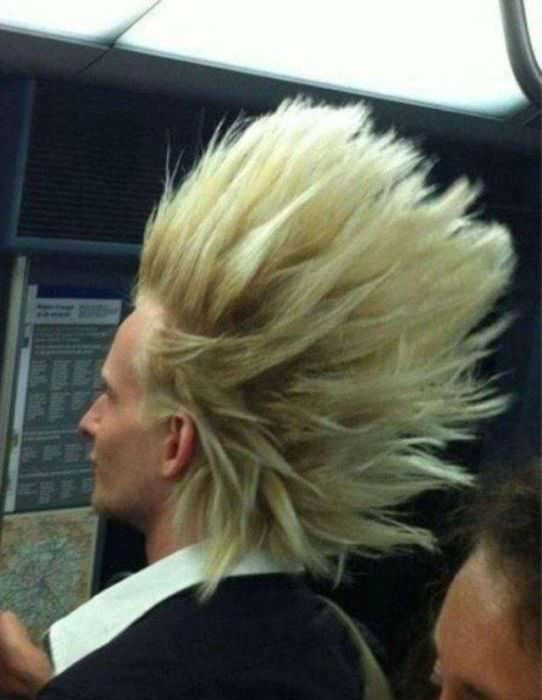 Funniest Haircuts On Crazy People
