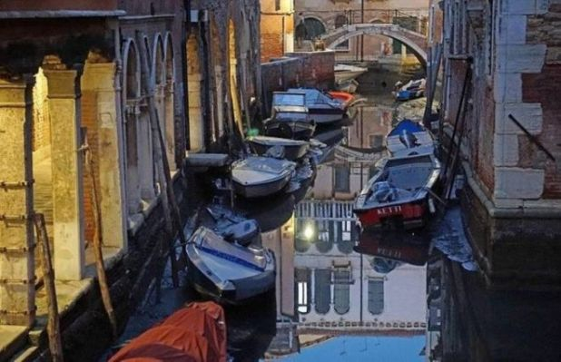 The Floating City Of Venice May Disappear Soon As It Is Running Out Of Water