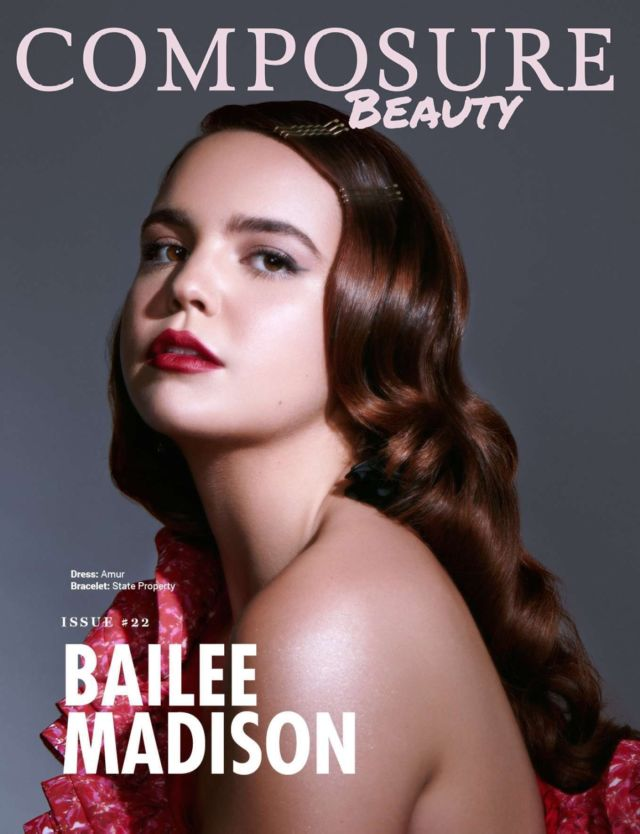 Glamorous Bailee Madison Covers Composure Magazine (July 2019)
