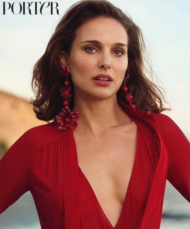 Natalie Portman Feautured In Porter Magazine Spring 2018 Issue