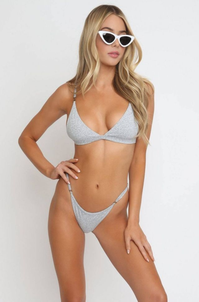 Celeste Bright Showcasing Ishine365 Swimwear Collection
