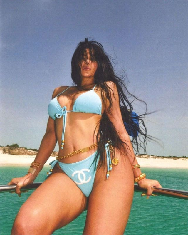 Kylie Jenner's Latest Bikini Photoshoot On A Yacht 2019