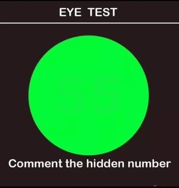 Are You Able To See The Number In This Image?