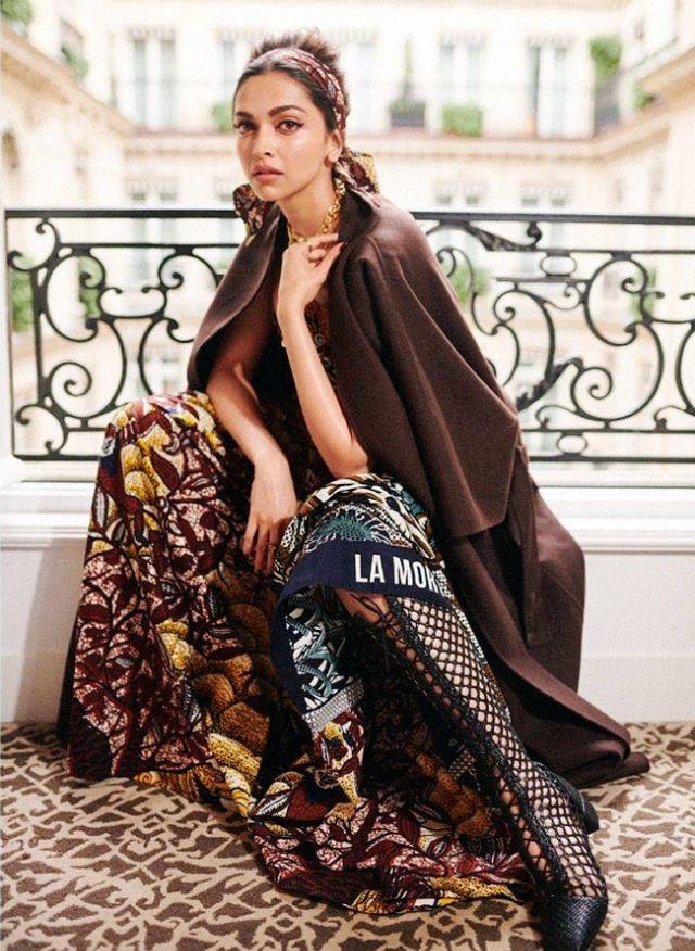 Deepika Padukone Looked Fantastic At Paris Fashion Week 2019