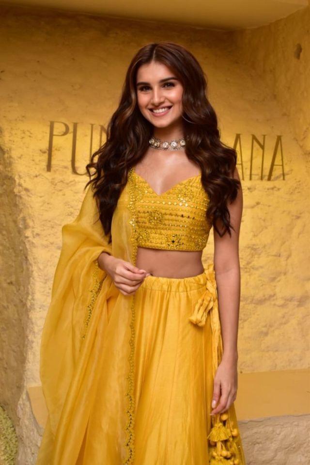 Beautiful Tara Sutaria Graces The Launch Of Punit Balana's Store