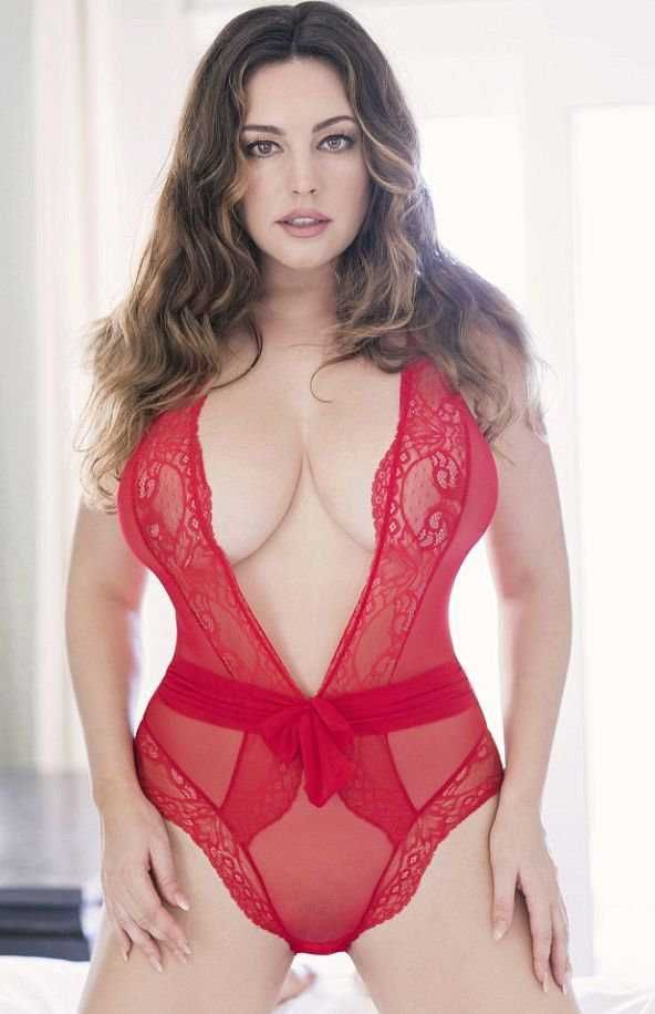 Kelly Brook Exclusive Photoshoot For Valentine's Day 2018 ...