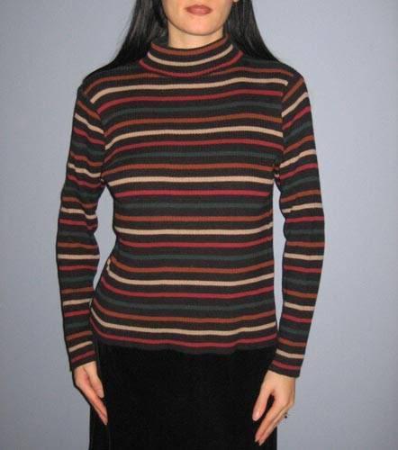 Horizontal Stripes Make You Look Thinner