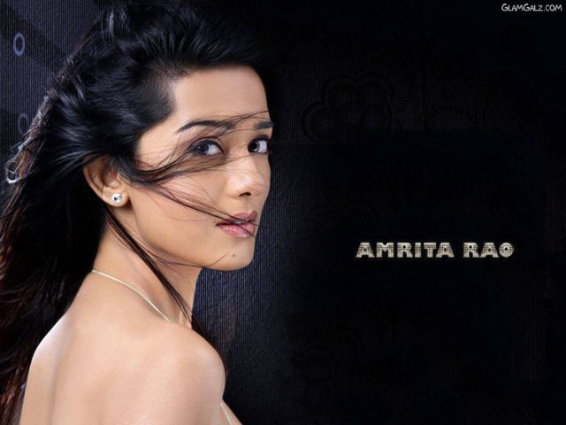 Click to Enlarge - Beautiful Amrita Rao Wallpapers