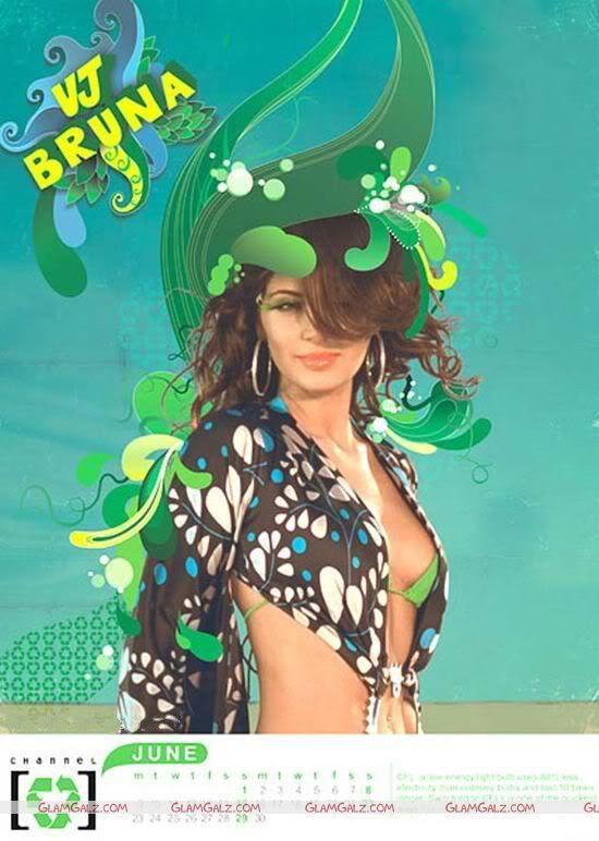 Click to Enlarge - Channel V 2008 Calendar 2008