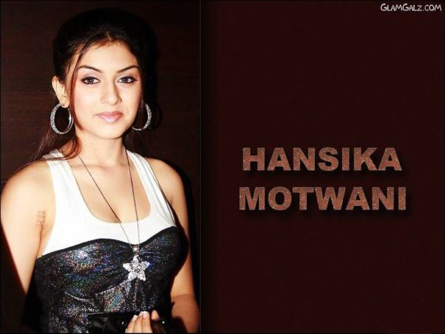 Click to Enlarge - Pretty Hansika Motwani Wallpapers