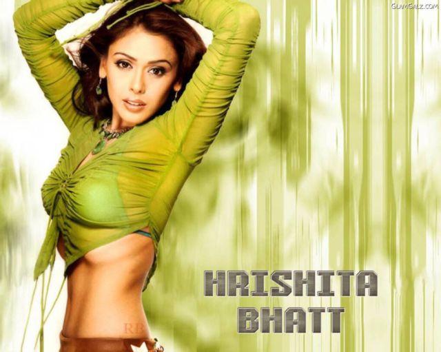 Click to Enlarge - Sizzling Hrishitaa Bhatt Wallpapers