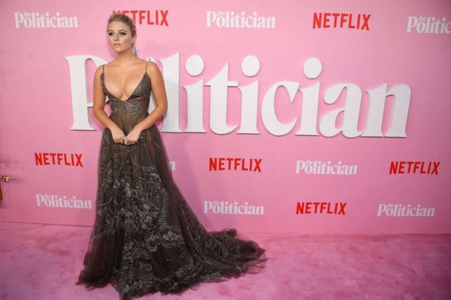 Julia Schlaepfer At The Premiere Of Netflix's 'The Politician' Season One