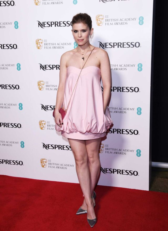 Kate Mara Attends The EE British Academy Film Awards Nominees Party