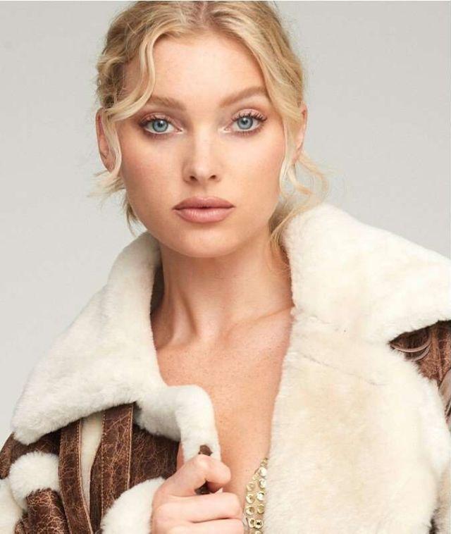 Elsa Hosk Poses For Nicole Benisti Fall 2019 Photoshoot