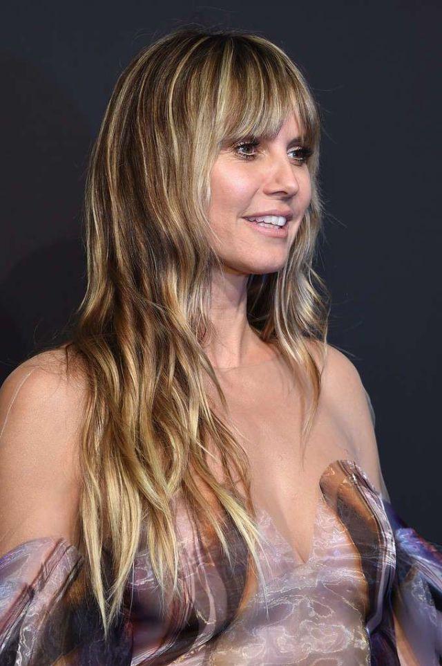 Heidi Klum Attends Gabrielle's Angel Foundation Hosts Angel Ball 2019