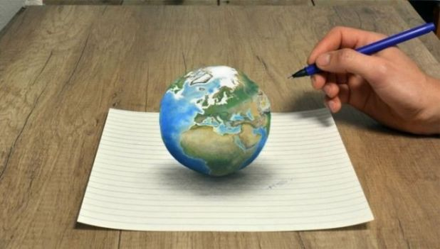20 Creative Hyperrealistic 3D Drawings Coming Out Of Paper