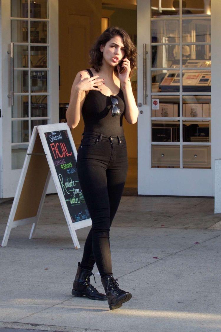 Eiza Gonzalez Candids In Black Jeans Out In Studio City