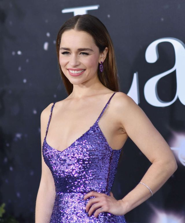 Emilia Clarke Attends The Premiere Of 'Last Christmas'