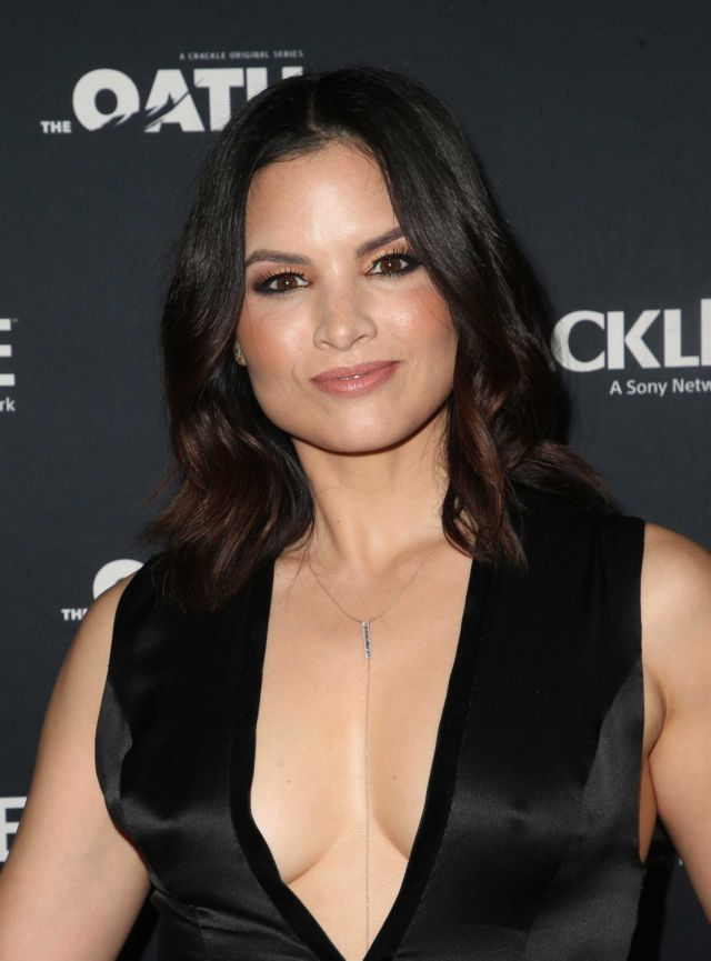 Katrina Law Attends The Crackle's 'The Oath' Premiere
