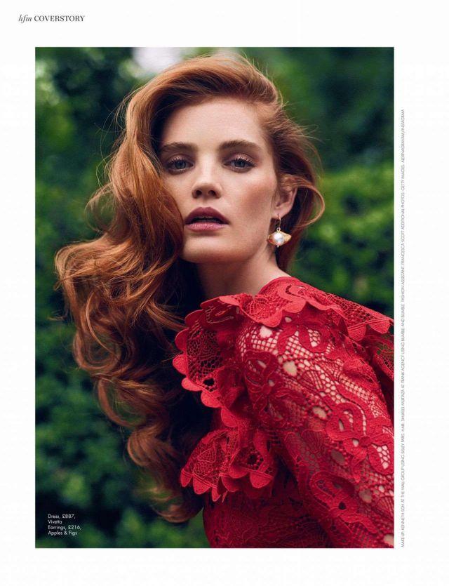 Gorgeous Alexina Graham For HELLO! Fashion Magazine (December 2019/January 2020)