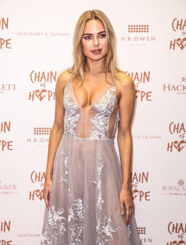 Gorgeous Kimberley Garner Shines At Chain Of Hope Annual Ball