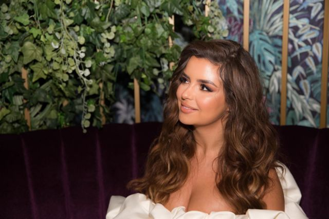 Beautiful Demi Rose At Feya Cafe Launch Party In London