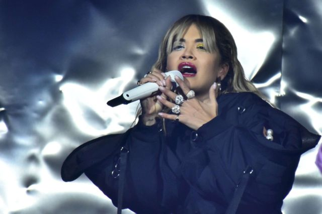 Rita Ora Performs At The American Express Gold Launch In Mexico City