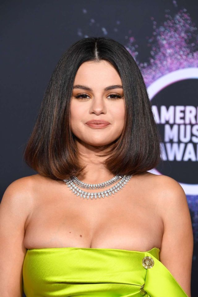 Selena Gomez Surprises Everyone At American Music Awards 2019