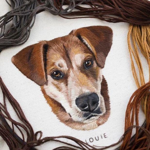 15 Creative Stitching Artworks By Emillie Ferris