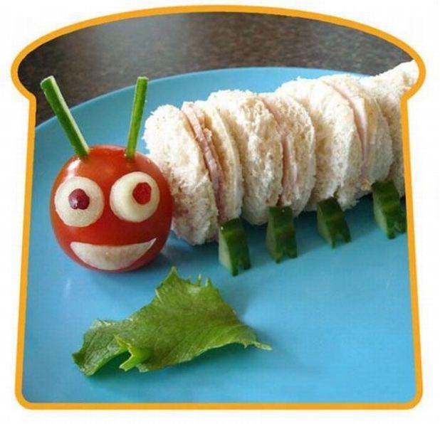 Homemade Creative Sandwich Art Ideas