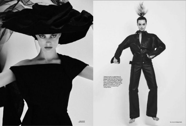 Margot Robbie Shoots For V Magazine's Spring 2020 Issue