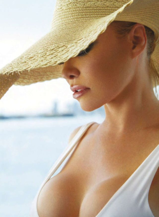 Pamela Anderson Shoots In Swimsuit For Maxim Australia Magazine 2020
