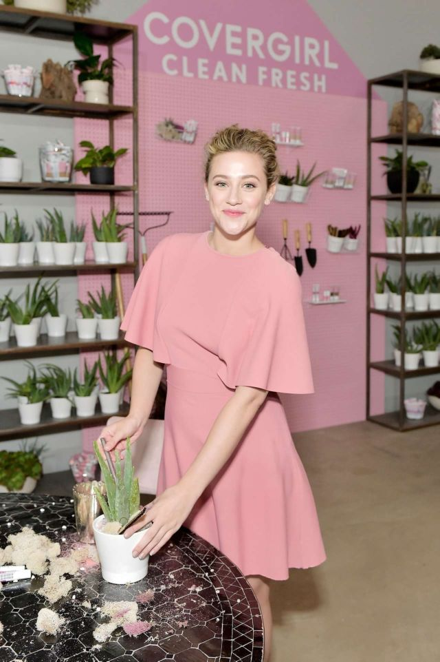 Pretty Lili Reinhart At The Covergirl Clean Fresh Launch Party